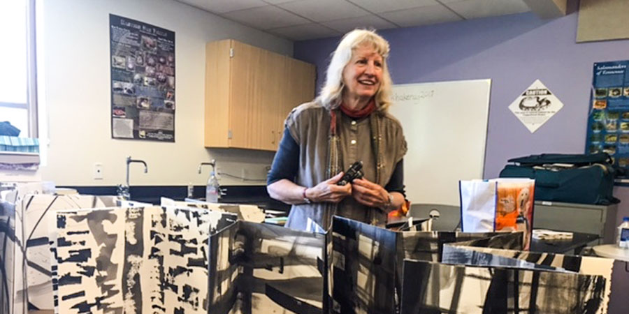 Dorothy Caldwell: Human Marks at Shakerag